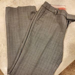 Herringbone-like pattern trousers